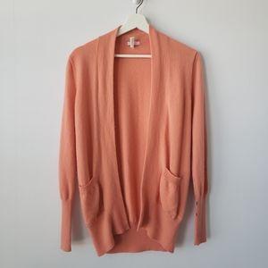 J crew cashmere pocket cardigan sweater size M